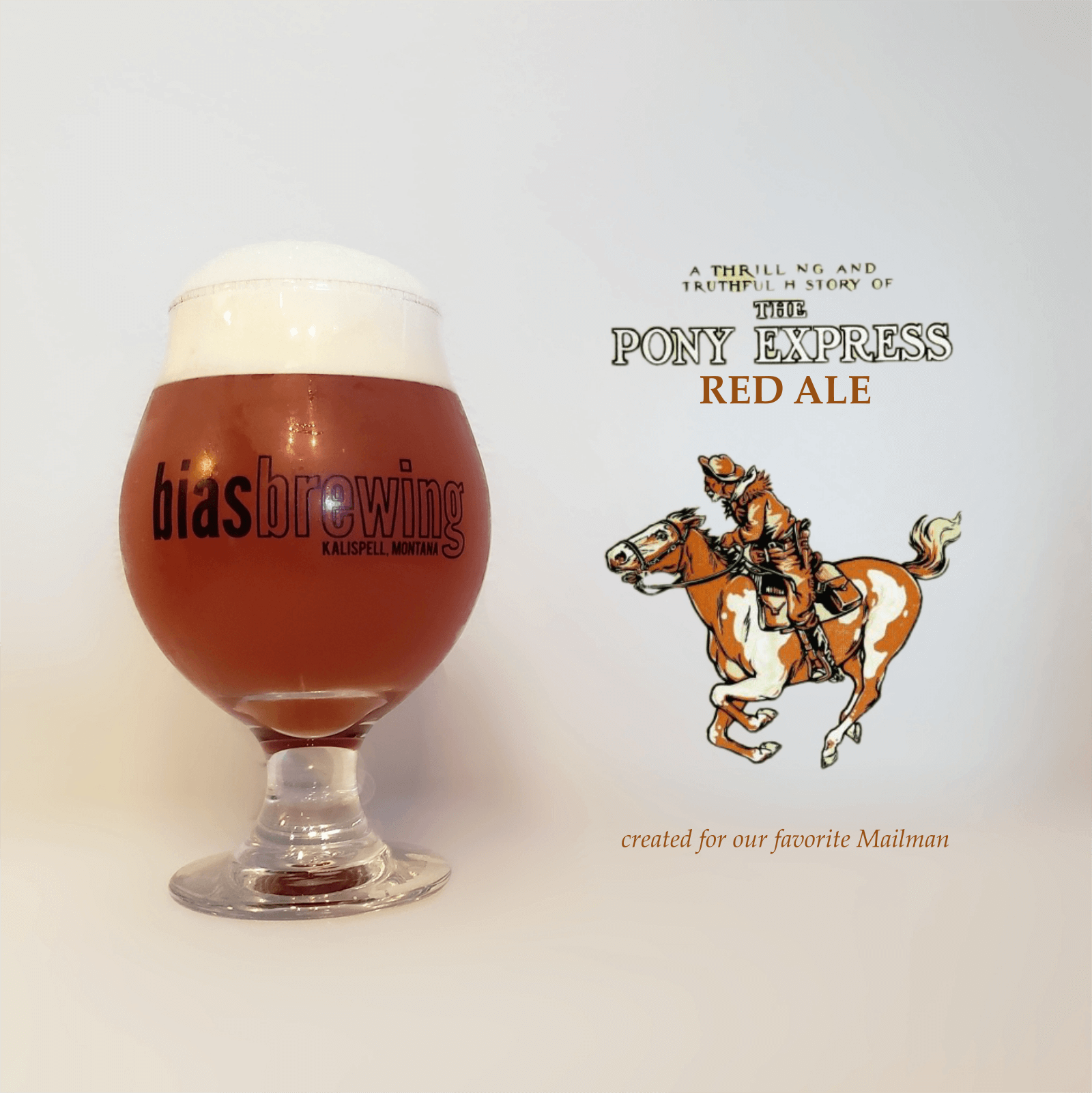 Bias Brewing Pony Express Red Ale